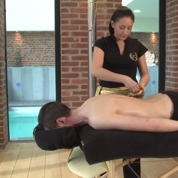 Massage soin du dos