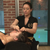 Massage lift visage